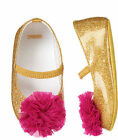 NWT Gymboree Bonjour Bebe Gold Crib Dress Shoes Baby Girl Infant 2,3 segunda mano  Embacar hacia Argentina