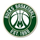Milwaukee Bucks Round  Decal / Sticker Die cut on eBay