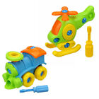 Baby Early Learning Airplane Disassembly Assembly Puzzle Educational Toy Welcome