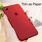 For IPhone X XS MAX XR XS Matte Thin Shockproof Phone Case Cover Protection