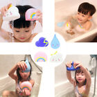4Pcs Cute Weather Cloud Waterdrop Kid Baby Swimming Bath Time Play Toy Charm