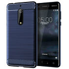 For Nokia 3 5 6 7 8 2018 X3 X5 X6 Shockproof Silicone Rubber Soft TPU Case Cover