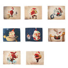 Dining Linen Christmas Tablecloth Placemat Mat Christmas Decoration Table Pads
