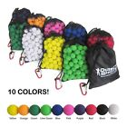 JAM FREE, Accurate Ammo Balls for Nerf Rival Guns - 120 Pcs - 10 Colors Avail,