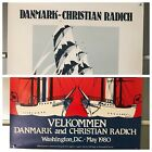 Pair of posters-the Christian Radich & Tall Ships of Denmark Washington DC 1980