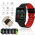 New F3 Smart Bluetooth Watches Blood Pressure Heart Rate Sport Wristwatch Gifts