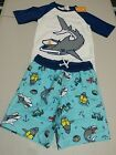 NWT Gymboree boy rash guard shark Set 2T 3T 4T 5/6,7/8,10/12 UPF 50+