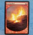 MTG Magic The Gathering SEARING BLAZE PROMO REWARD (A) LP Fine-, Actual pictures