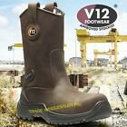 V12 TIGRIS  RIGGER BOOTS WORK SAFETY  V1607.02 UK 6-13 COMPOSITE TOECAP