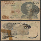 Colombia 1000 Pesos Oro 1979 (FAIR) Condition Banknote P-421