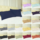 2 X Pillowcases Soft 100% Brushed Microfiber Zippered Housewife Pillow Case image