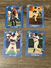 LOT 4 CLASSIC BASEBALL CARDS 1991 OLERUD MUSSING MITCHELL HOILES