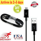 3ft Heavy Duty Extra Long Charging Micro USB Data Sync Charger Cable for Android