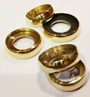 BRASS FLANGE RING 7 sizes choose from 21mm - 27mm for WALKING STICKS and CANES.