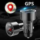 12V-24V Car Charger SPY GPS Tracker Locator Real Time Tracking Dual USB Voltmete $6.74 USD on eBay