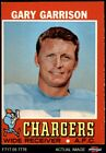 1971 Topps #172 Gary Garrison Chargers San Diego St 3 - VG $1.1 USD on eBay