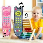 Baby Kids Music Simulation Mobile Phone TV Remote Control Early Educational Toys