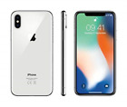 Apple iPhone X 64 GB SIM-Free Smartphone - Silver NEW