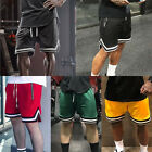 Mens Casual Shorts Pants Athletic Breathable Mesh Running Basketball Quick Dry