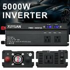 4000W/5000W Car Power Inverter DC 12V To AC 110/220V Charger Converter &USB Port