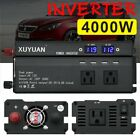 4000W/5000W Car Power Inverter DC 12V To AC 110V Charger Converter with USB Harbour