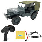 FixedPrice2,4g rc auto 1:10 mini military jeep ferngesteuerter buggy 4wd off-road