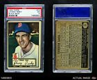 1952 Topps #15 Johnny Pesky Red Sox PSA 5 - EX