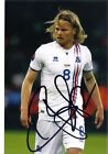 superb aston villa Birkir Bjarnason 6x4 photo hand signed iecland