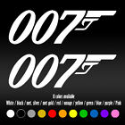 "7"" 007 James Bond Movie UK Agent Laptop Bumper Car Window Vinyl Decal sticker $7.24 USD on eBay"
