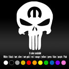 "7"" Punisher Skull Mopar Dodge Hemi Diecut Bumper Car Window Vinyl Decal sticker $7.24 USD on eBay"