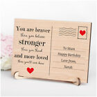 PERSONALISED You Are Braver Stronger Birthday Gifts Mum Mummy Nanny Her Quote