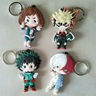 My Hero Academia Keychain Figure Keyring Pendant Anime Collection Toy 6-9CM