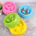 Pet Anti-choke Feeders Dog Cat Bowls Slow Down Eating Skid-proof Pet Supplies