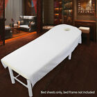 Beauty Massage SPA Bed Table Elastic Cotton Cover Sheet + Breath Hole 80/120cm image