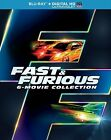 Fast and Furious 6-Movie Collection (Blu-ray) *No digital HD*