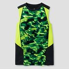 c9 Champion Boys Novelty Sleeveless Tech T-shirt Green/Charcoal