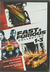 FAST AND FURIOUS 1-3 MOVIE COLLECTION DVD