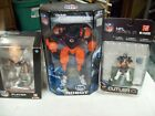 3-NFL ACTION FIGURES 1,BRIAN URLACHER,1JAY CUTLER-1 TEAM CLEATUS CLEVELAND BROWN