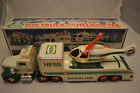 1995 Hess Toy Truck and Heliccopter