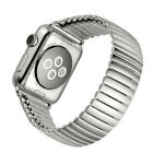 New Stretch Watch Band For Apple Watch Stainless Metal Bracelet Strap for iwatch image