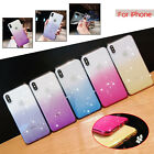For iPhone XS XR 8/7/6s Shockproof Clear Soft TPU Silicone Slim Back Case Cover