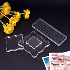 Pressure Sculpture Clay Acrylic Pad Pottery Workbench Stamps Block Transparent