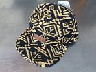 Obey 'Tabora 5 Panel' Baseball Cap. Black And Gold. One Size (free P&P)