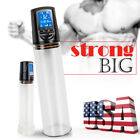Electric Beginner Penis Enlarger Pump Bigger Device LCD Display Enlargement Male
