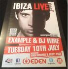 OPENING / CLOSING / TOOLROOM / MINISTRY @ EDEN IBIZA CLUB POSTERS 2013 / 2015