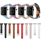 Genuine Leather Wrist Strap for iWatch Apple Watch Band 38mm 42mm Series 4/3/2/1 image