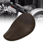 Leather Solo Driver Seat For Harley Sportster 883 1200 XL Bobber Cafer Chopper