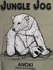 Rare VTG Jungle Jog Anoki Shirt Polar Bear Zoo Vintage Tee Jays sz M Made in USA