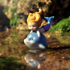 Resin Miniature Mermaids Fairy Garden Figurines Fish Tank Home Decor Ornaments