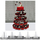 HEAVY DUTY Acrylic Crystal Cupcake Dessert Stand For Birthday Party Wedding
